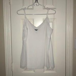 white loose cami